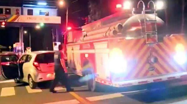 Gobernador ordenó investigar a Opeinvías por impedir paso de bomberos de Soacha
