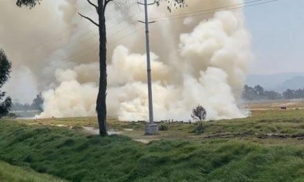 Quema  en Ciudad Verde se suma a la lamentable cifra de incendios forestales en Soacha