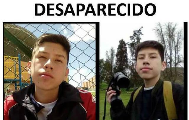 Menor de edad desaparece en Soacha, su último contacto fue con ciudadano boliviano