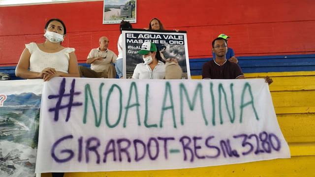 Girardot pide revocar  licencia ambiental de proyecto minero en el río Magdalena
