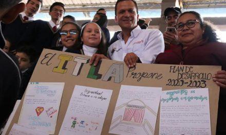 Niños de Soacha participaron en la construcción del Plan de Desarrollo