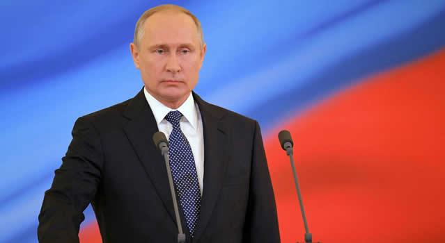 """Mientras yo sea presidente, no habrá matrimonio homosexual"": Vladimir Putin"