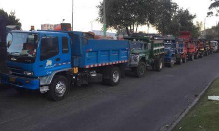 Camioneros y autoridades llegan a un acuerdo para levantar el paro