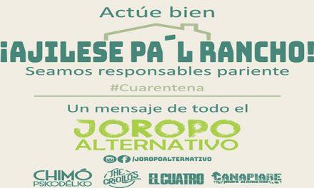 Ajílese pa´l rancho, concierto llanero on line