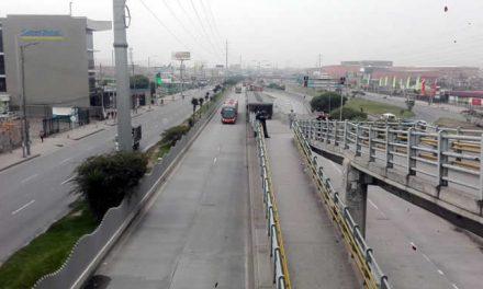 Este puente festivo hay cierre de la autopista Sur en Soacha para vehículos particulares