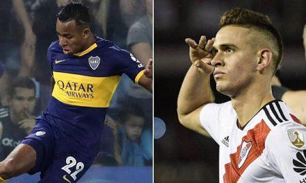 Boca y River definen el título en Argentina con colombianos como protagonistas