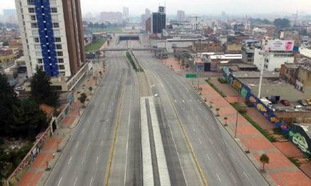 En Bogotá, siete millones de personas se quedaron en casa durante  primer día de simulacro día