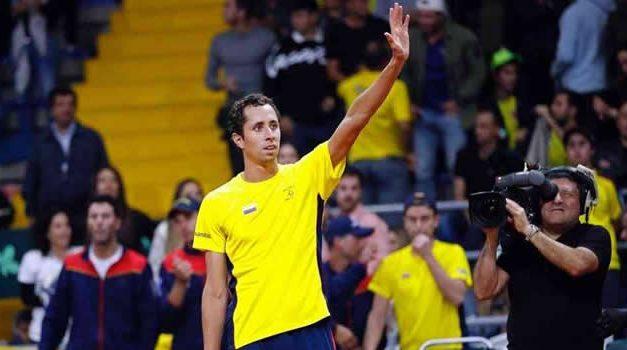 Colombia  clasificó a la final de la Copa Davis
