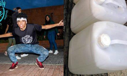 Artista de Soacha crea gel antibacterial en medio de cuarentena nacional