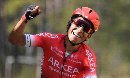 ¿Cuál fue la gestión de Nairo ante el gobierno para que los ciclistas puedan salir a entrenar?