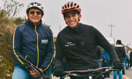 El 'Team Región Central' dio sus primeros pedalazos