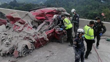 Fatal accidente en La Vega  deja una niña y dos adultos   muertos