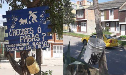 "Iniciativa para incentivar a recoger heces de las mascotas en Soacha ""¿Recoges o pagas?"""