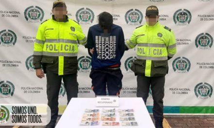 A la cárcel ciudadano extranjero que hurtó dinero en tienda de cadena en Soacha