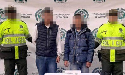 A la cárcel dos sujetos que atracaban buses de servicio público en Soacha