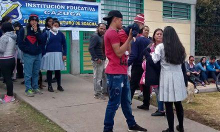 Vuelven las clases a la Institución Educativa Cazuca de Soacha