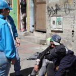 Habitantes de calle sí  respetan cuarentena en Bogotá