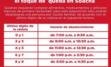 En Soacha se establece horario para ir al  supermercado