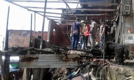 Se incendia otra casa en la comuna cuatro de Soacha