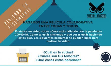 En tiempos de pandemia 'Suacha en imágenes' invita a crear la primer película colaborativa del municipio
