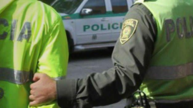 Detienen agente de policía adscrito al Copes Sibaté