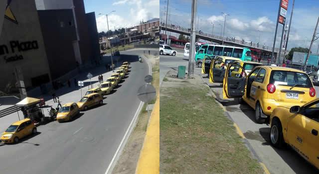 Taxistas de Soacha piden denuncias concretas ante ola de señalamientos al gremio