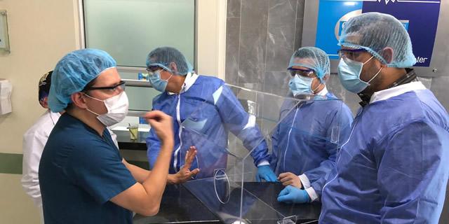 Tecnoparque y Tecnoacademia del SENA Soacha, junto con Clínica San Luis,  aportan en la prevención del Covid-19