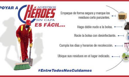'Héroes sin capa', la campaña que da un mensaje de apoyo al personal operativo de Aseo Internacional