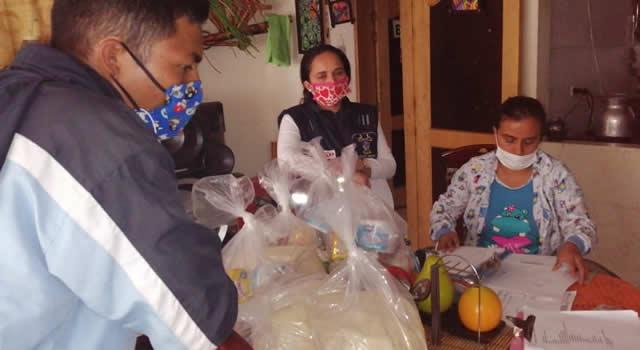 Centros geriátricos  de Soacha recibieron mercados
