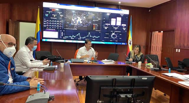 Instalan mesa de seguimiento a inversión de recursos para atender emergencia sanitaria en Cundinamarca