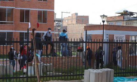 En medio de la pandemia fue tomado conjunto residencial de Soacha
