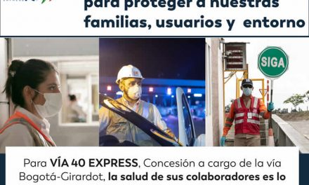 Acciones para garantizar la salud de los colaboradores de la VÍA 40 EXPRESS