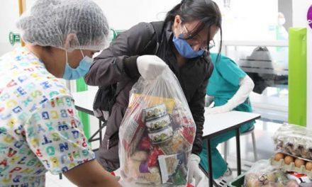 Cerca de 2 millones de ayudas alimentarias se han entregado en Bogotá