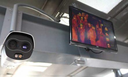 Primera cámara térmica de Transmilenio se estrenó en Soacha