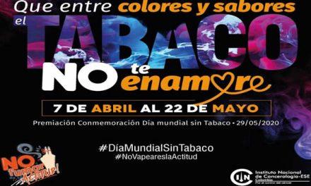 Nunca ha sido tan importante 'No Fumar y No vapear',  concurso digital de memes y videos para el control del tabaco