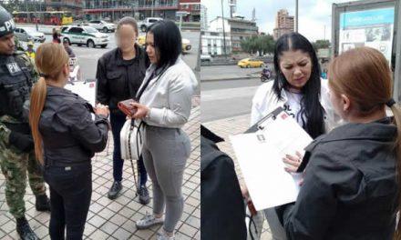 En  Bogotá capturan a una de las mujeres más buscadas en Argentina