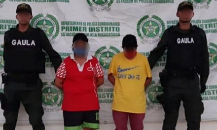 Las mujeres que el Gaula capturó por extorsión en Cundinamarca