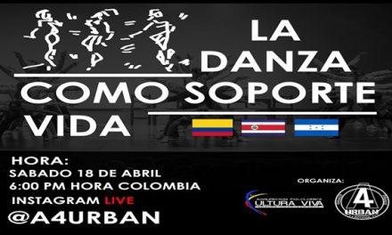 Fundación A4 Urban  y Cultura Viva lideran conversatorio internacional de danzas