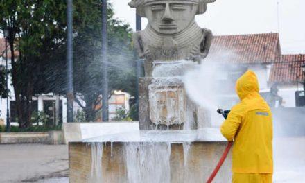 Más de mil millones de pesos invierte Funza para  la desinfección total del municipio