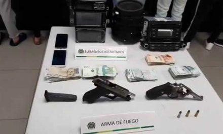 En Bogotá capturan 8 delincuentes en plena cuarentena