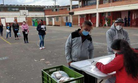 Listado de estudiantes beneficiarios de raciones alimenticias  para el mes de  junio en Soacha