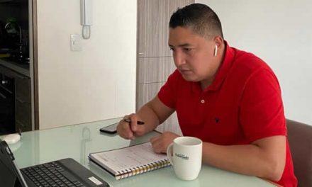 Concejal Giovanni Ramírez cuestiona actitud de contratistas de la actual administración de Soacha