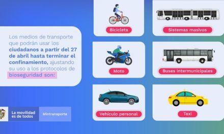 Personas  que retornan a trabajar podrán usar su carro particular y motocicletas