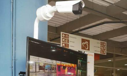 Se instalan cámaras de detección de temperatura en Mercurio Centro Comercial