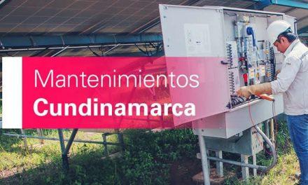 Habrá cortes de energía en Cundinamarca desde este domingo