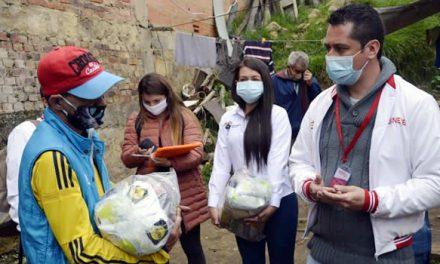 La solidaridad que calmó el hambre de la familia de Edixon Pérez en Soacha