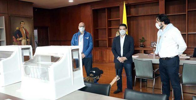 Mabe desarrolla y dona 450 cápsulas de protección para el personal de la salud