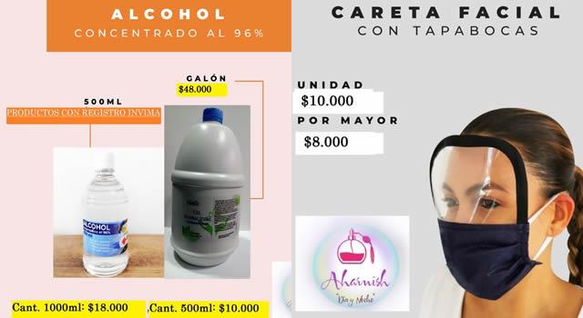 El emprendimiento que combina perfumería con  productos de bioseguridad en Soacha