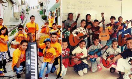 Los niños y jóvenes de Soacha que cambiaron el puñal por una guitarra