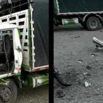 Un motociclista muerto deja lamentable accidente vía Chusacá-Sibaté